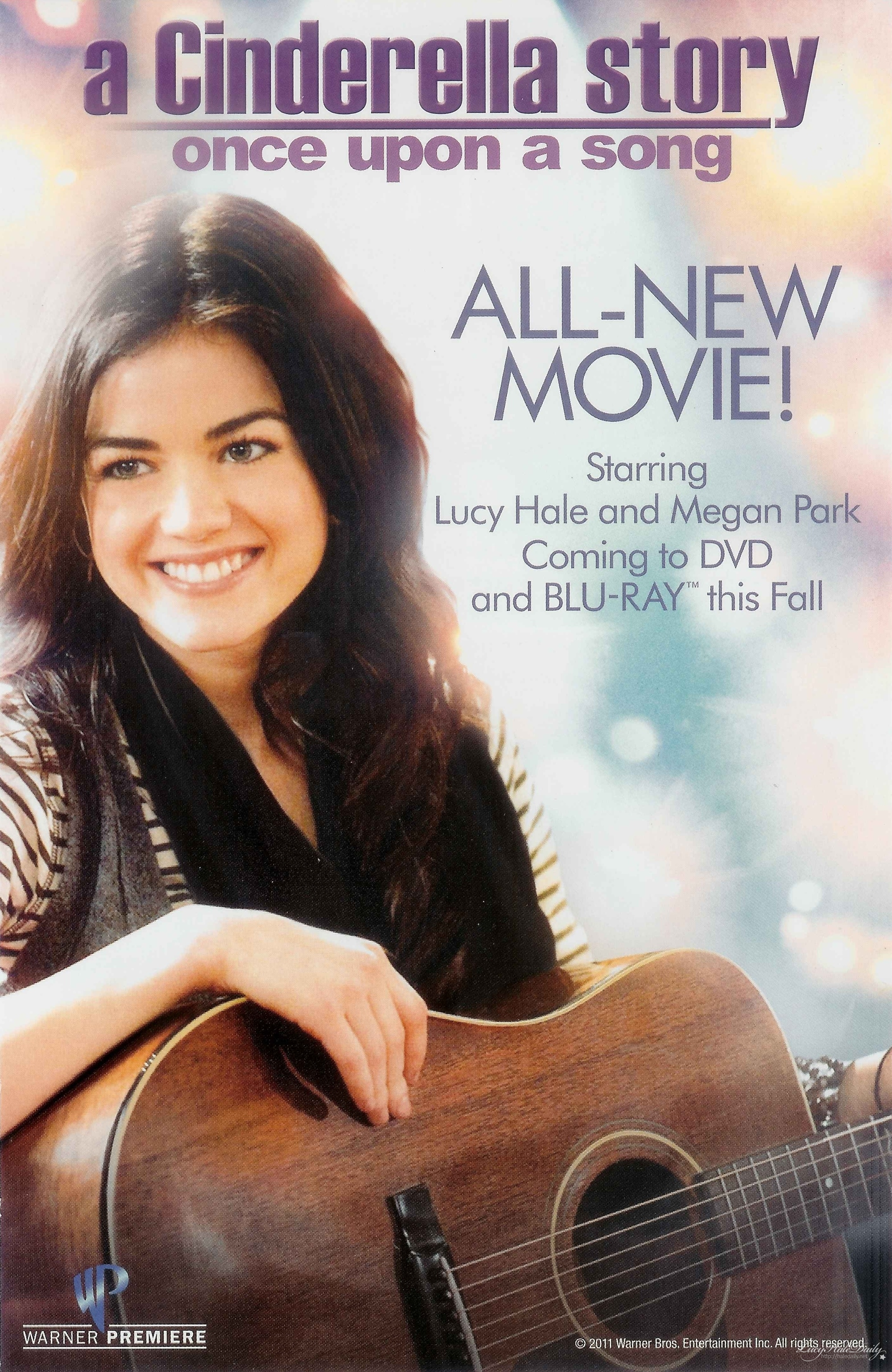 lucy hale �a cinderella story once upon a song� poster